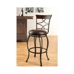 traditional swivel bar chair set 2 counter height metal