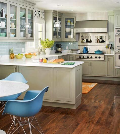 accent color for white and gray kitchen find the perfect kitchen color scheme cabinets kitchens