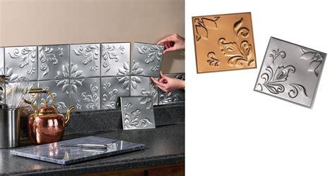 decoration metal backsplash for kitchen kitchentoday 14 pcs kitchen wall tiles tin backsplash self adhesive