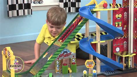 kidkraft mega ramp racing set item  youtube
