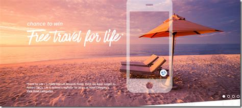Vacation For Life Sweepstakes - marriott free travel for life 3 750 000 points sweepstakes loyalty traveler