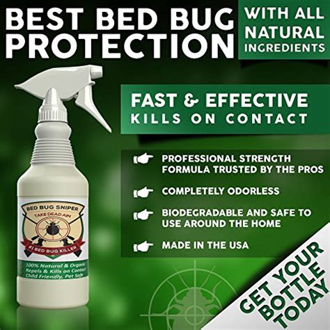 Organic Bed Bug Killer Spray Trusted By The Pros