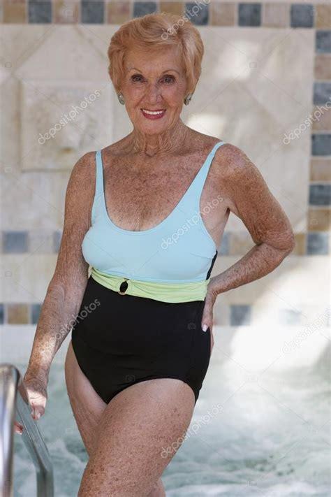old ladies in bathing suits senior woman wearing bathing suit stock photo 169 bst2012