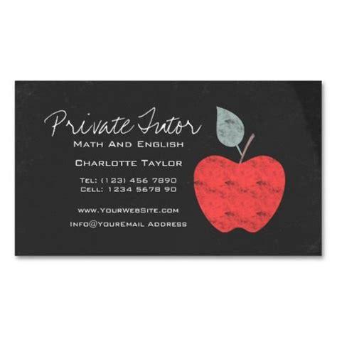 educational consultant business cards education teacher