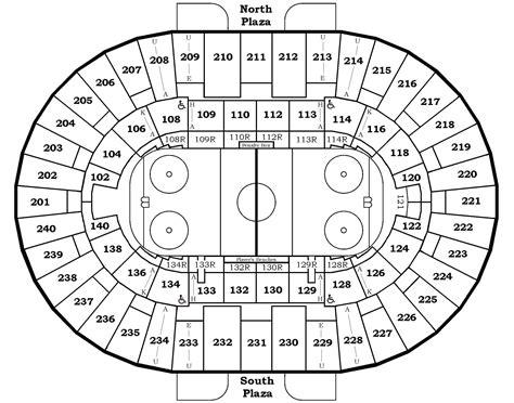 Air Canada Center Floor Plan Seating Charts North Charleston Coliseum Amp Performing