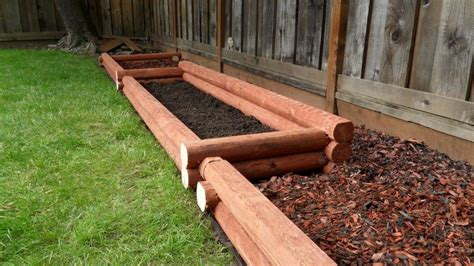 Garden Timbers by Landscape Timber Lincoln Logs By Friddle