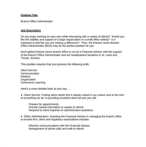 office administrator description related keywords best