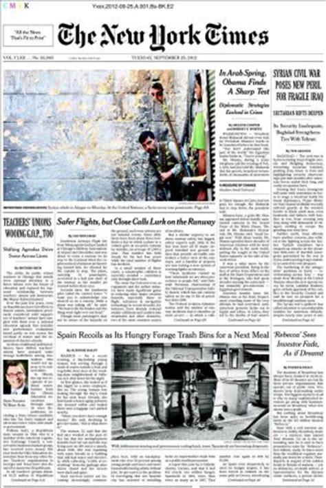 New York Times Mba Internship by El Hambre En Espa 241 A Seg 250 N The New York Times