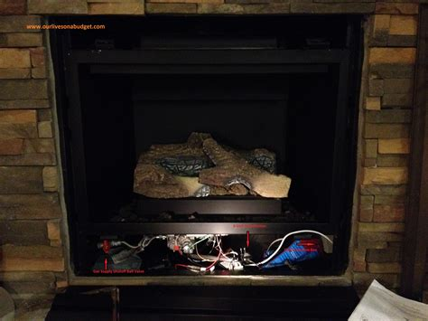 Gas Fireplace Blower Installation by How To Install A Gas Fireplace Blower Kit Our Lives On A
