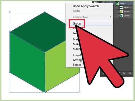 How To Make An Cube - how to make a cube in adobe illustrator with pictures