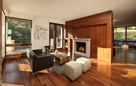 Modern Warm Living Room Designs Warm Living Room Contemporary Homes Mosaic Architects