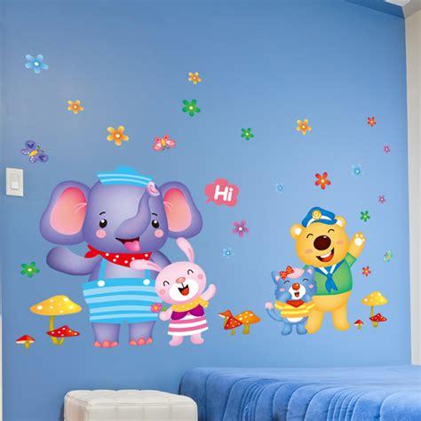 wallpaper anak medan stiker kamar bayi stiker dinding murah