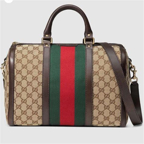 Sale Bag Gucci 1796 Semprem 48 gucci handbags gucci web gg print boston bag with wallet from luxury s closet