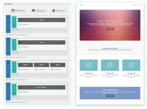elegant themes gallery page using premade layouts divi documentation