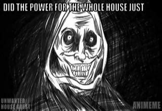 unwanted house guest animeme insanity wolf memes