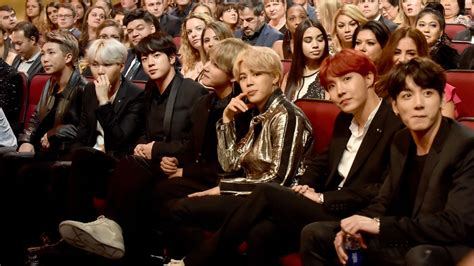 bts american music awards all anyone cared about at the amas was south korean boy
