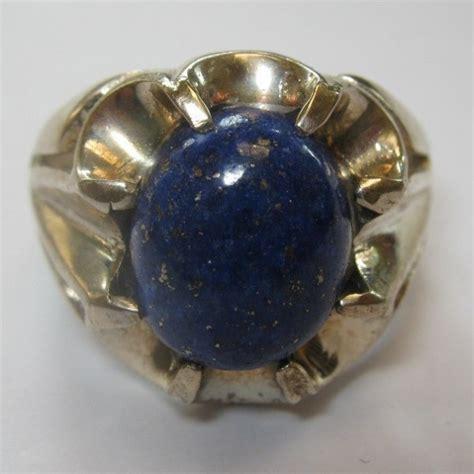 Kotak Cincin Putih Jewellery Box cincin pria silver 925 lapis lazuli ring 9us