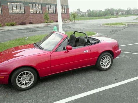 how it works cars 1993 mazda mx 5 navigation system buy used 1993 red mazda miata mx 5 turbocharged in fishers indiana united states for us 5 900 00