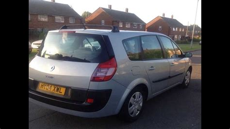 Diesel Sillver 2004 renault grand scenic expression 1 5dci diesel silver