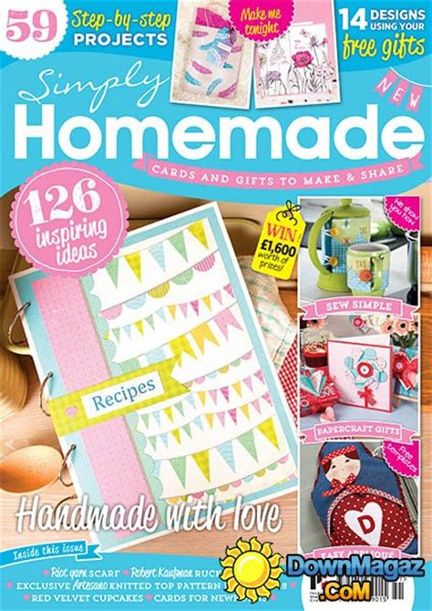 Simply Handmade Magazine - simply issue 51 2015 187 pdf magazines