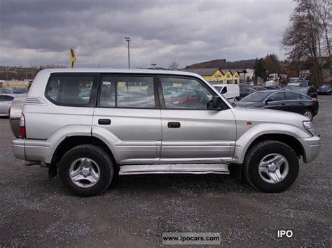 95 Toyota Land Cruiser 2003 Toyota Land Cruiser D 4d Kj95 Special Lederausstatung