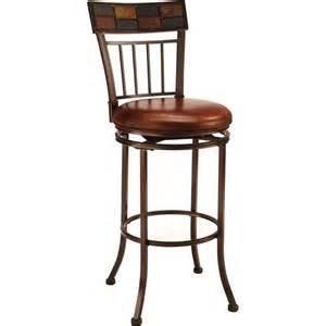 hillsdale montero 24 in swivel counter stool with mosaic
