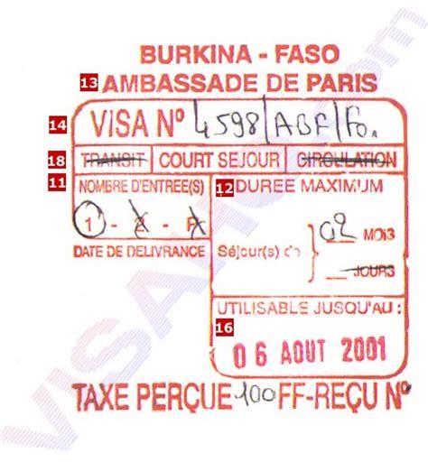 Lettre De Demande De Visa De Transit Paspoort En Visum Burkinafaso Jouwweb Nl