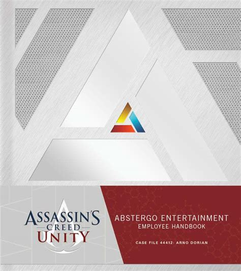 assassins creed unity abstergo gr giveaway assassin s creed unity abstergo entertainment employee handbook