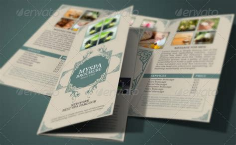 spa brochure 10 spa brochure templates to comfort your audiences