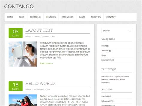 free wordpress blog themes 10 best free wordpress blog themes 2013