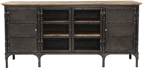 restoration hardware industrial tool chest media console