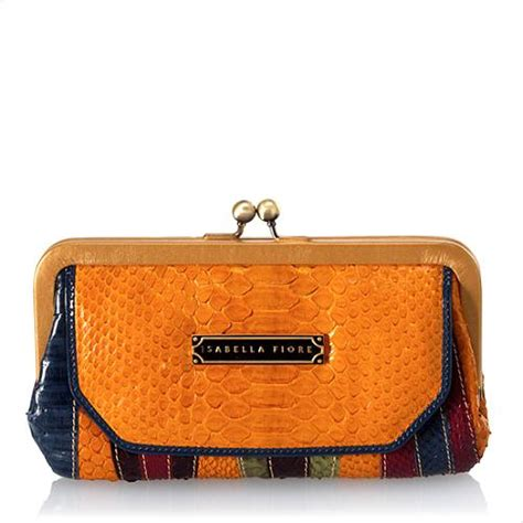Fiore Terry Frame Bag by Fiore Watermark E W Kisslock Frame Wallet