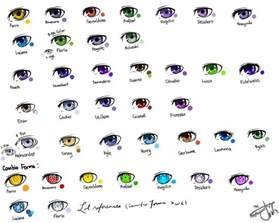anime eye color anime color t 236 m với beautiful
