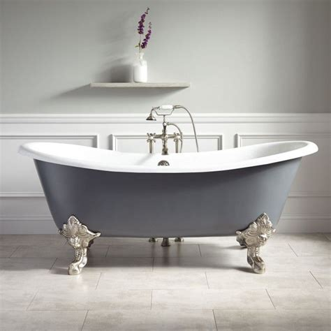 how to paint a cast iron bathtub 25 best ideas about painted bathtub on pinterest
