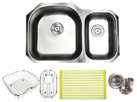 ariel stainless steel undermount  bowl  kitchen sink