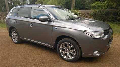 on the road review mitsubishi outlander phev full on the road review