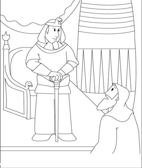 Free Coloring Pages Of Moses Pharaoh Pharaoh Coloring Pages