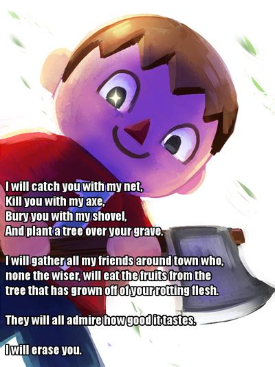 Animal Crossing Villager Meme - super smash bros villager meme