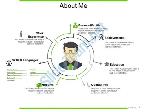 About Me Powerpoint Presentation Exles Powerpoint Slide Images Ppt Design Templates About Me Powerpoint Template