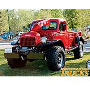 Vintage Dodge Power Wagon Parts For Sale  Motor Replacement And