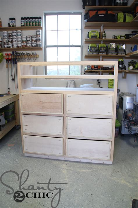 Nothing In That Drawer by Diy Media Storage Dresser Shanty 2 Chic