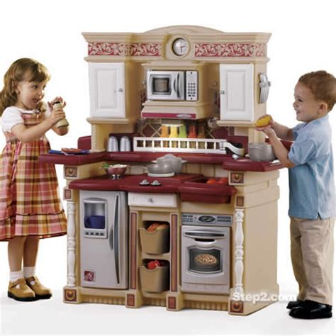 step 2 lifestyle partytime kitchen gift guide 2009 pretend play with step2 s