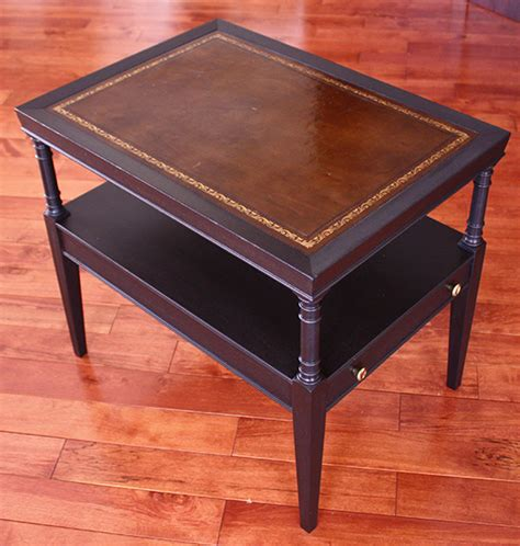 leather top table zeller interiors
