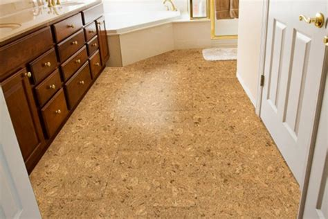 cork bathroom flooring country kitchen set for classy dinner trellischicago