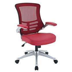 Mesh Chair Back Support by Attainment Modern Ergonomic Mesh Back Office Chair W