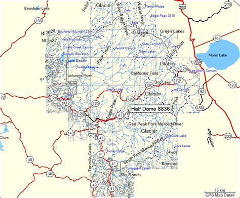 map usa yosemite map of america yosemite my