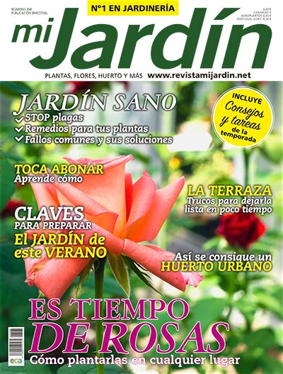 revista mi jardin portada mj revista mi jard 237 n