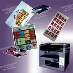 business cards machine multicolor metal business cards printing machine