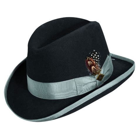 all fedoras where to buy all fedoras at village hat shop stacy adams homburg hat all fedoras