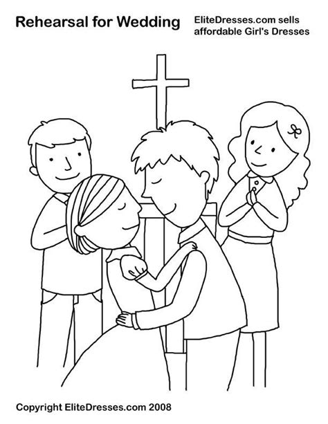 Wedding Coloring Pages by Pin By Elite Dresses On Free Wedding Coloring Pages From